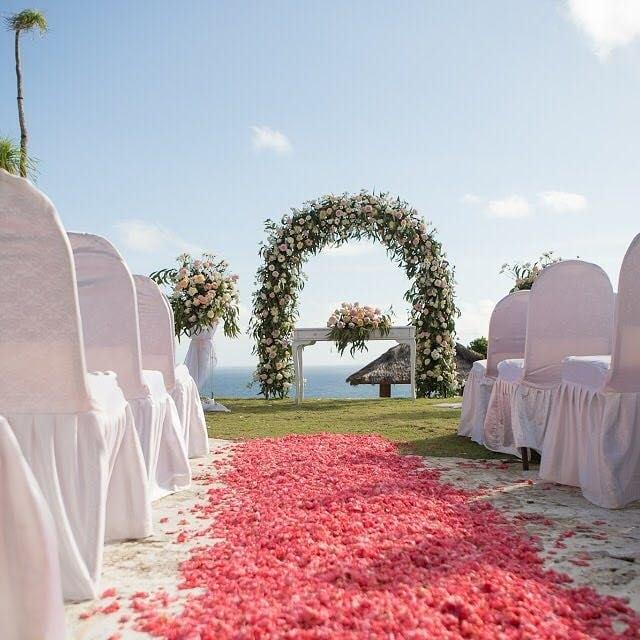 Ocean View Wedding Bali Villa